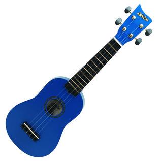 Ashton UKE100 Concert Ukulele, Blue