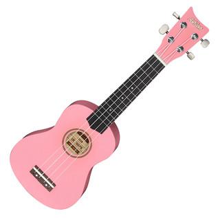 Ashton UKE160 Soprano Ukulele, Pink