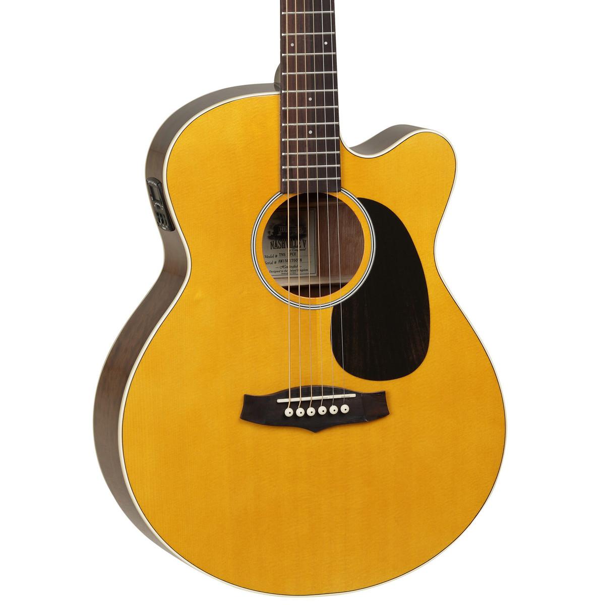 tanglewood tn5 sfce nashville v electro acoustic guitar natural at. Black Bedroom Furniture Sets. Home Design Ideas