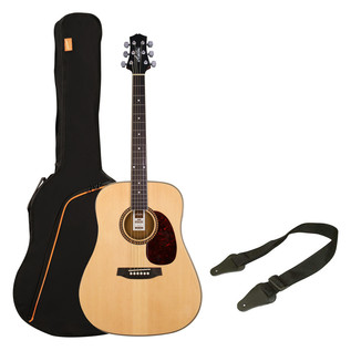 Ashton SPD25 Acoustic Guitar Starter Pack, Natural