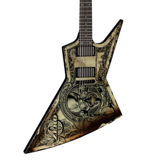 Dean Zero Dave Mustaine Electric Guitar, In Deth We Trust