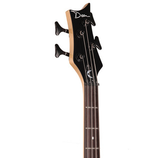 Dean Edge 09 Left Handed Bass Guitar, Classic Black