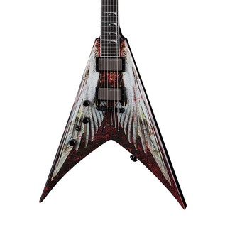 Dean V Dave Mustaine Left Handed Electric Guitar, Angel of Deth