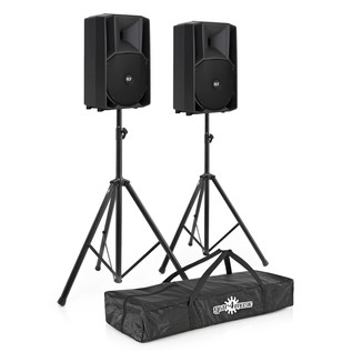 RCF Audio ART 715-A MkII Active Speaker Bundle with FREE Stands