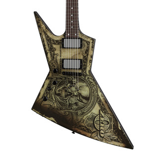 Dean Zero Dave Mustaine Left Handed Electric Guitar, In Deth We Trust