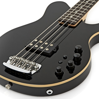 Music Man Reflex H Bass Guitar, RN, Black
