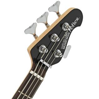 Music Man Reflex H Bass Guitar, RN, Black
