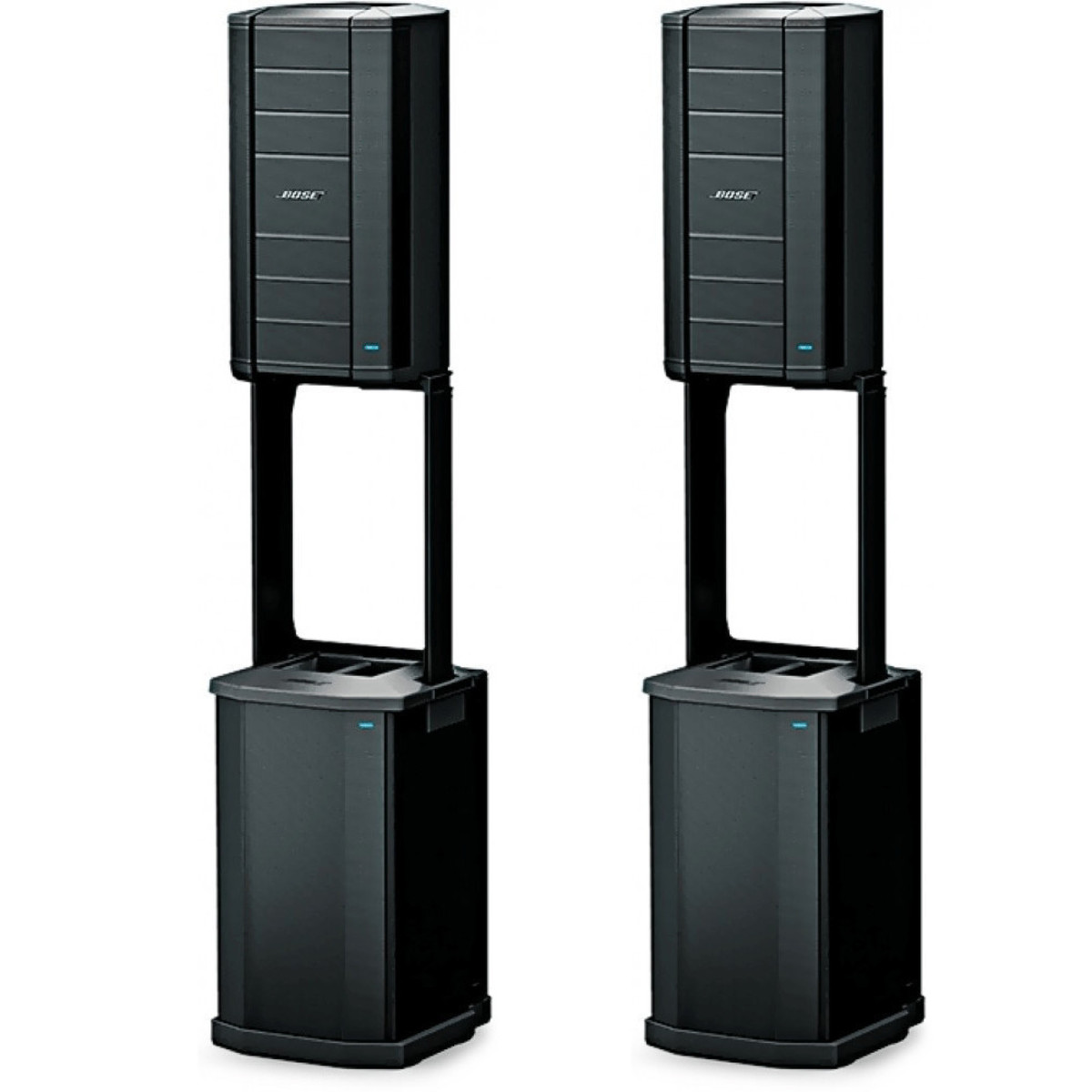 bose f1 syst me sono st r o flexible array caissons f1. Black Bedroom Furniture Sets. Home Design Ideas