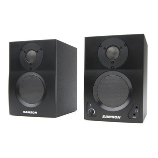 Samson MediaOne BT3 Active Studio Monitors with Bluetooth, Pair