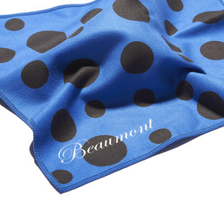 Beaumont Blue Polka Dot Cleaning Cloth