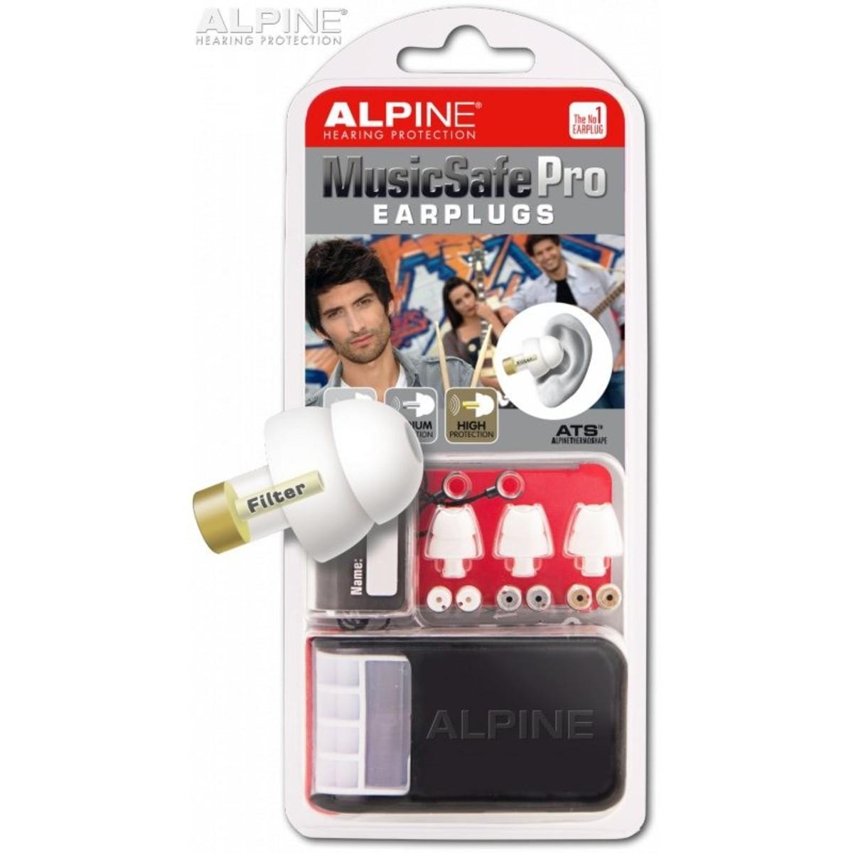 Image of Alpine Music Safe Pro Ear Plugs White