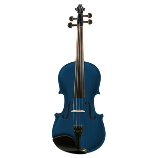 Ashton AV342 3/4 Size Violin, Blue Burst