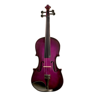 Ashton AV122 1/2 Size Violin, Purple