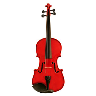 Ashton AV142 1/4 Size Violin, Red
