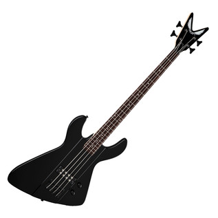 Dean Demonator Metalman Bass Guitar, Classic Black