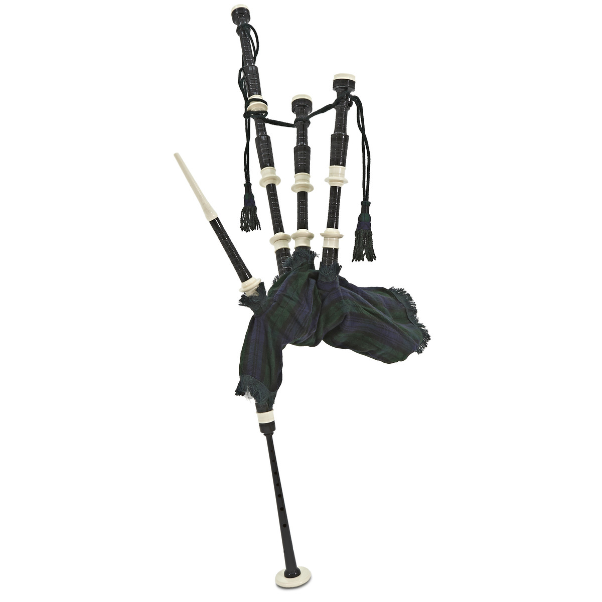 Image of Deluxe Bagpipes by Gear4music Black Watch