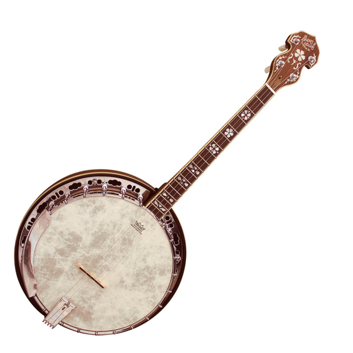 how to play 4 string irish banjo