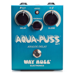 Way Huge Aqua Puss Analogue Delay Guitar Pedal