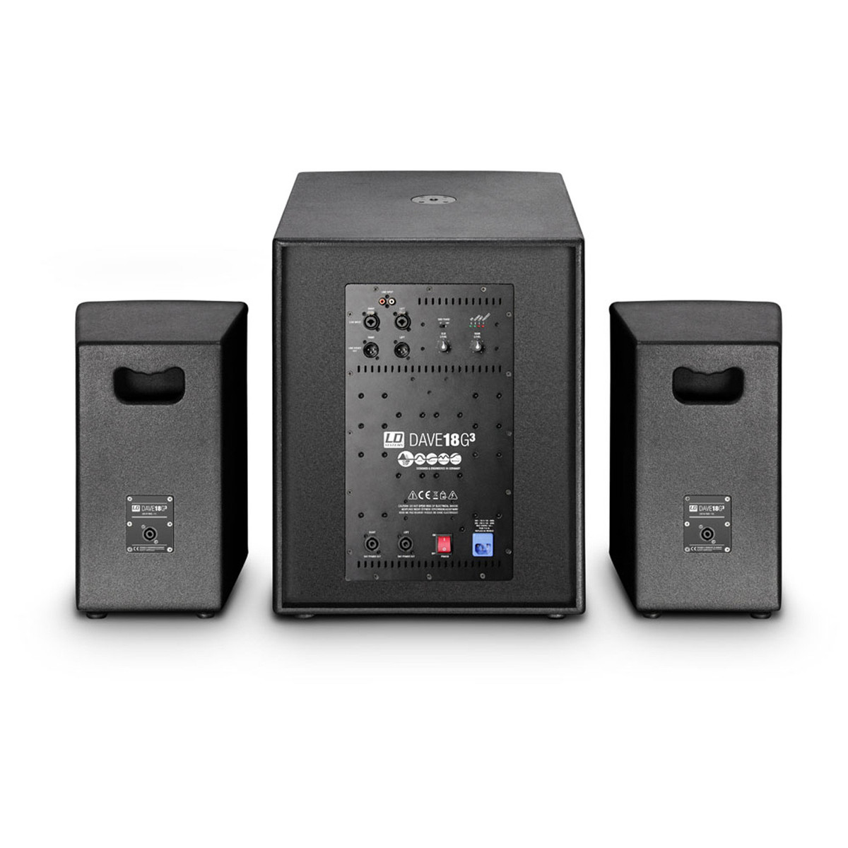 ld systems dave18g3 compact 18 39 39 active pa system at. Black Bedroom Furniture Sets. Home Design Ideas
