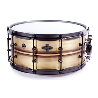 Liberty Metal Series 14x6.5 Snare, Antique Light Brushed Brass