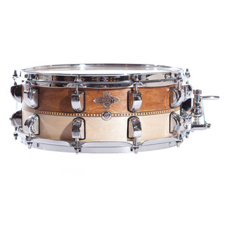 Liberty Inlay Series 14x6.5 Snare, Whiskey & Natural with Box Inlay