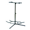 Soporte de Ashton GS52B doble guitarra, negra