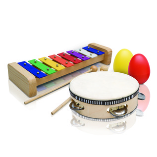 Ashton PSET2 Kids 3 Piece Percussion Set