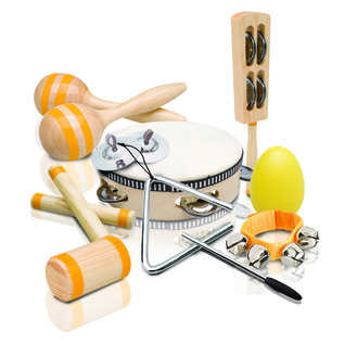 Ashton PSET4 Kids 9 Piece Percussion Set