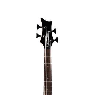 Dean EVO Bass Guitar, Black Satin