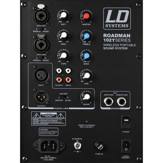 LD Systems Roadman 102 HS Portable PA Speaker with Headset Microphone