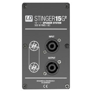 LD Systems Stinger 15 G2 Passive PA Speaker