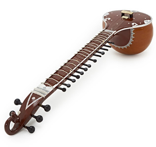 Sitar by Gear4music, Bird Head Design