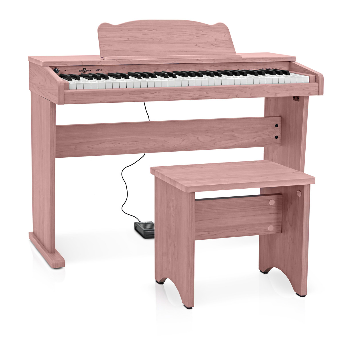 Image of JDP-1 Junior Digital Piano by Gear4music Pink