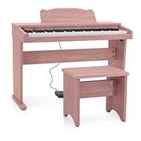 JDP-1 Junior Digital Piano by Gear4music Pink