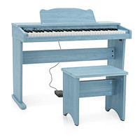 JDP-1 Junior Digital Piano by Gear4music Blue
