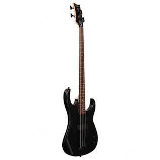 Dean Zone Bass Guitar, Metallic Black