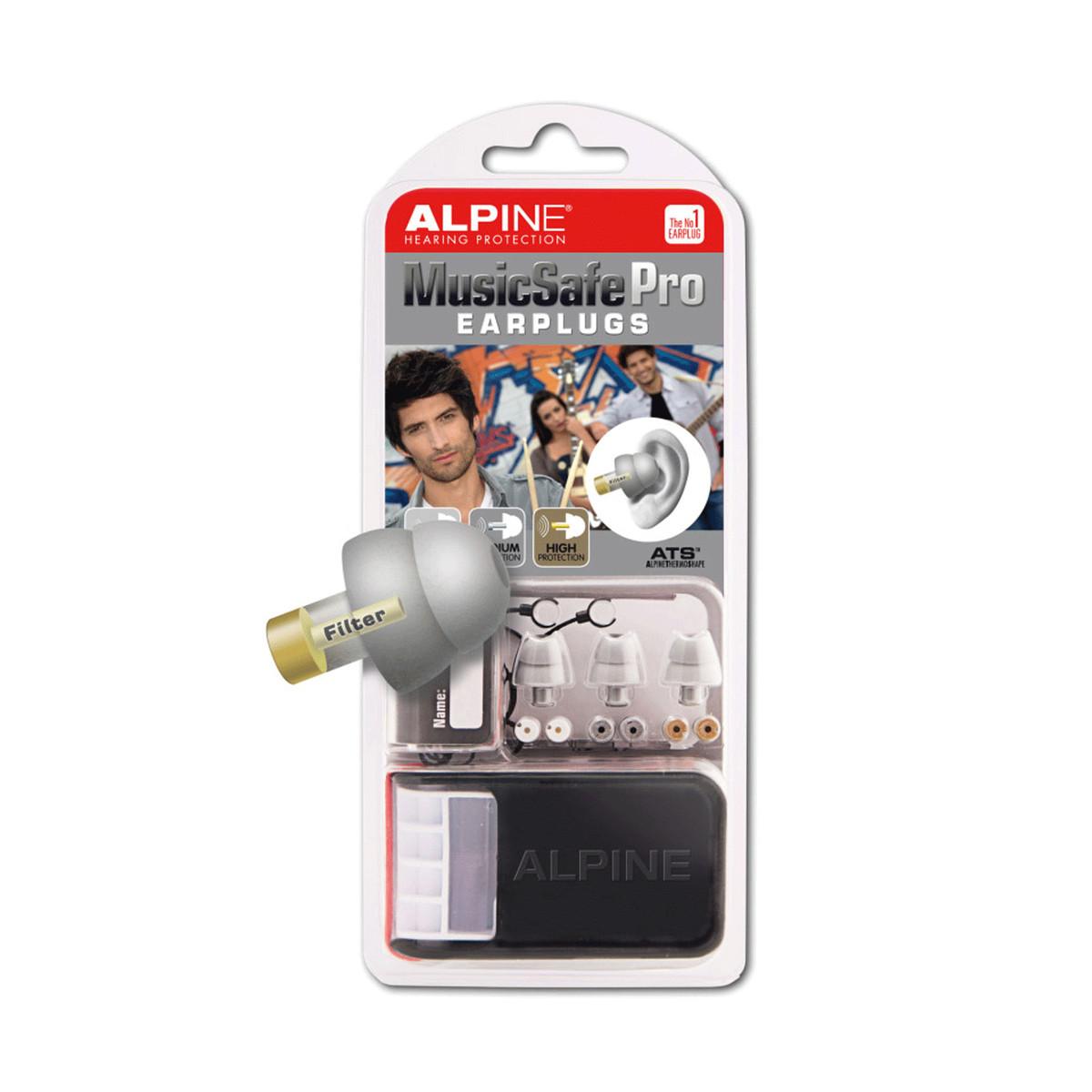Image of Alpine Music Safe Pro Ear Plugs Silver
