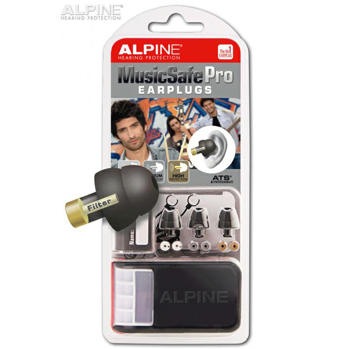 Image of Alpine Music Safe Pro Ear Plugs Black