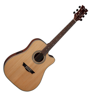Dean St. Augustine Dread Cutaway Electro Acoustic Guitar, Natural
