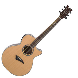 Dean Performer Electric Acoustic Guitar, Gloss Natural