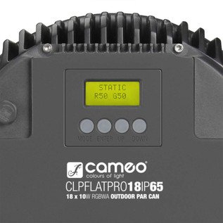 Cameo Flat Pro 18 IP65 18 x 10W RGBWA LED Outdoor Par Light