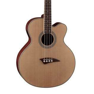 Dean EABC CAW Electro Acoustic Bass, Satin Natural