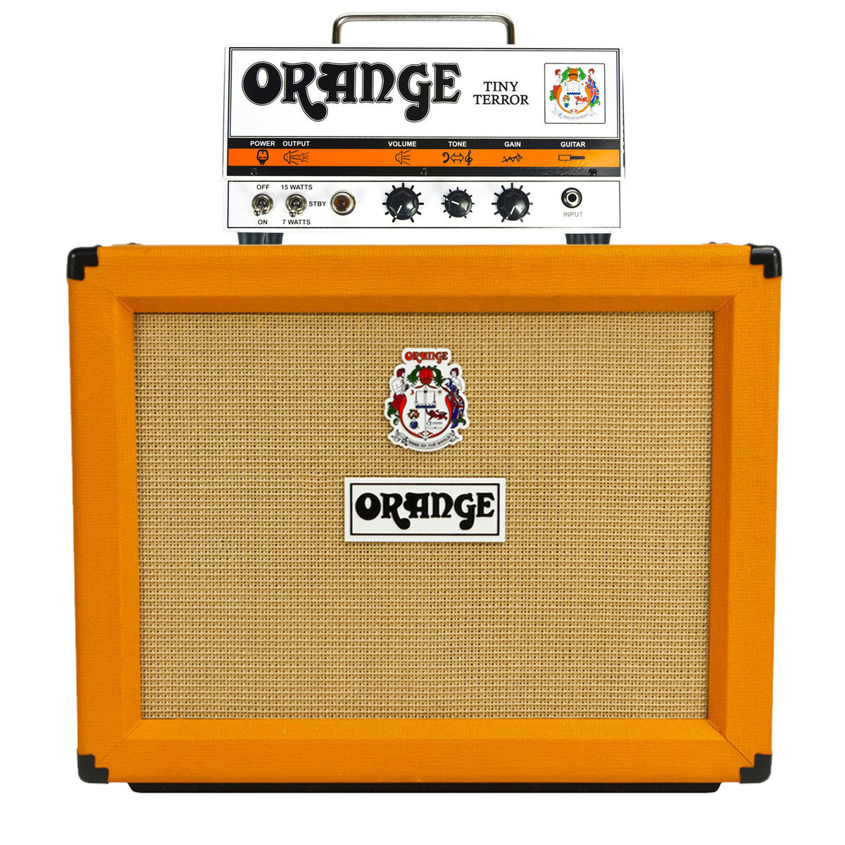 how to set up an orange amp