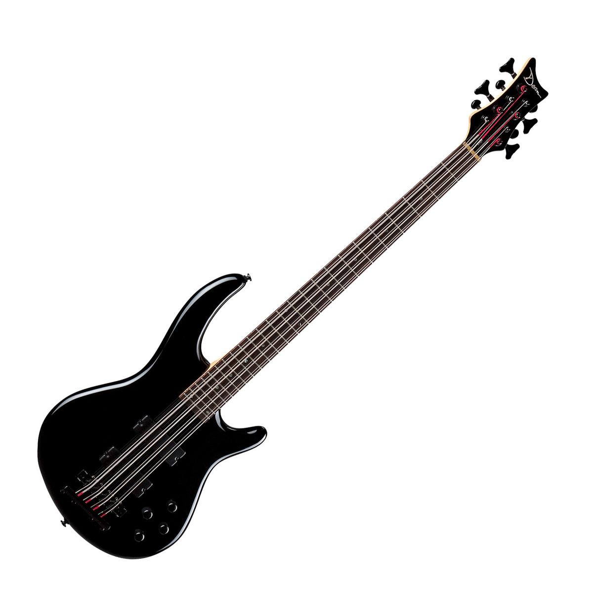 dean edge active eq 8 string bass guitar classic black at. Black Bedroom Furniture Sets. Home Design Ideas