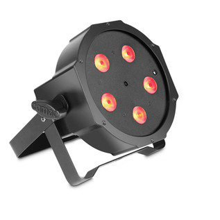 Cameo 5 x 3W Tri Colour Flat LED RGB Par Can