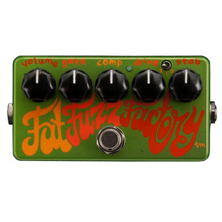 Z.Vex Fat Fuzz Factory Hand Painted Guitar Pedal