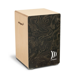 Schlagwerk la Peru Cajon, Night Burl Medium