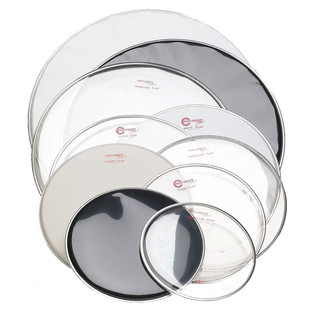 Percussion Plus Drum Head - Tom Clear Plus, 10