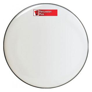 Percussion Plus White Bass Drum Head, 22