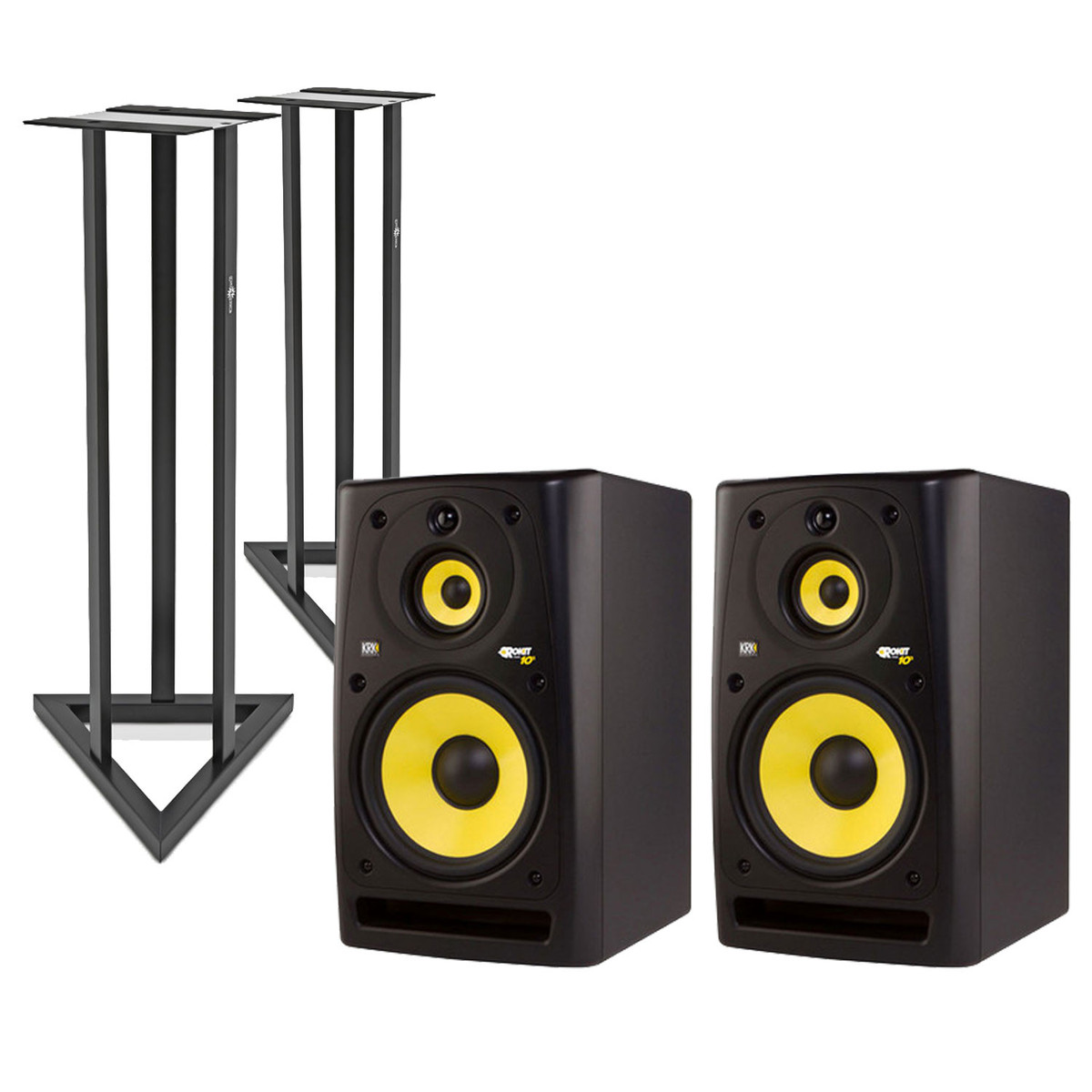 KRK Rokit RP10-3 Full Range Active Studio Monitors, Pair